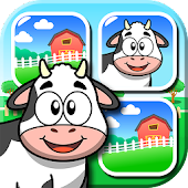 Farm Animals - Matching Game