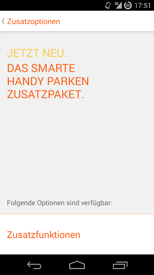 HANDY Parken- screenshot