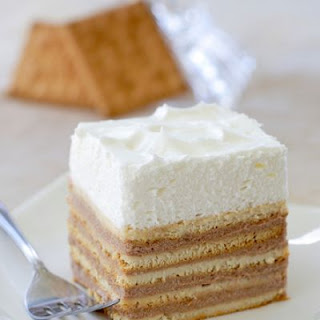No-Bake Butter Biscuit Cake.