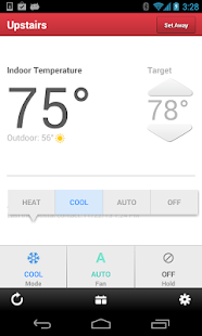 Wi-Fi Enabled Radio Thermostat - screenshot thumbnail