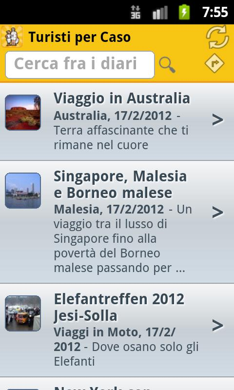 Turisti per Caso - screenshot