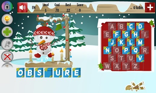 Christmas Hangman Deluxe- screenshot thumbnail
