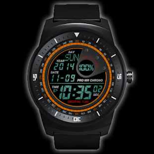 A40 WatchFace for Android Wear Smart Watch