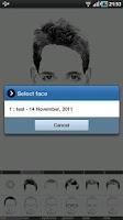 Screenshot of FlashFace Premium police tool