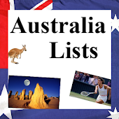 World Travel Lists - AUSTRALIA