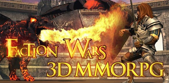 Faction Wars 3D MMORPG apk