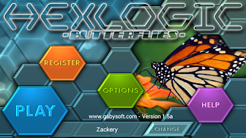 Screenshot of HexLogic - Butterflies