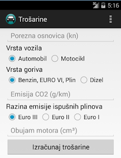 Trošarine- screenshot thumbnail