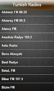 Turkish Radio Turkish Radios- screenshot thumbnail
