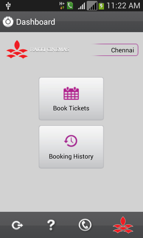 Rakki Cinemas - Book Tickets- screenshot