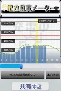 電力消費メーター- screenshot thumbnail