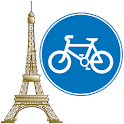 Offline GPS Paris bike paths logo