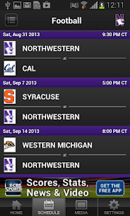 Northwestern Athletics - screenshot thumbnail