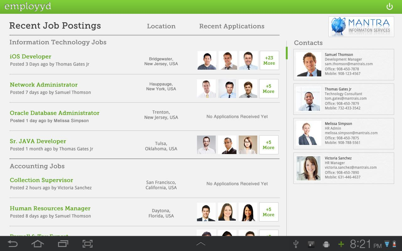 employyd – Hire or Get Hired - screenshot