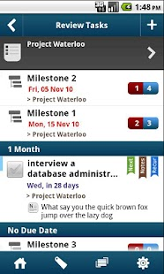WAToDo! LITE Android ToDoList- screenshot thumbnail