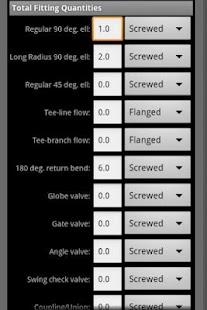 HVAC Pipe Sizer - Steam- screenshot thumbnail
