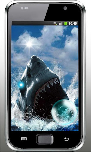 Shark Oceanic live wallpaper