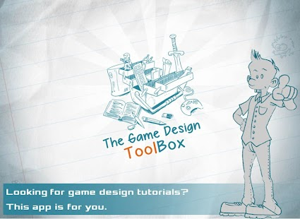 Game Design Toolbox- screenshot thumbnail