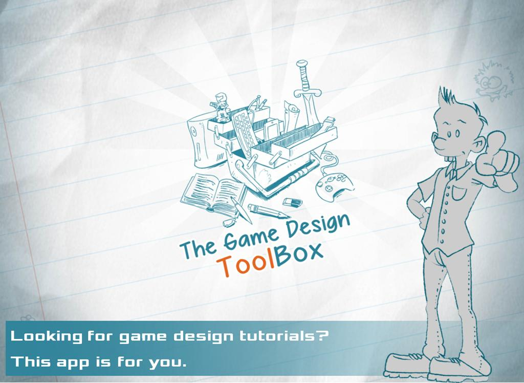 Game Design Toolbox- screenshot