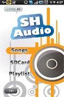 Screenshot of ShAudio