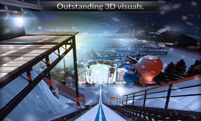 Super Ski Jump Free - screenshot