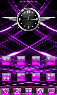 Purple Gloss Theme - screenshot thumbnail