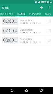 HTC Clock- screenshot thumbnail