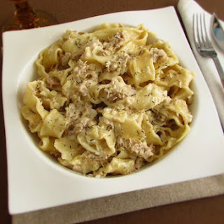 Tuna With Cream
