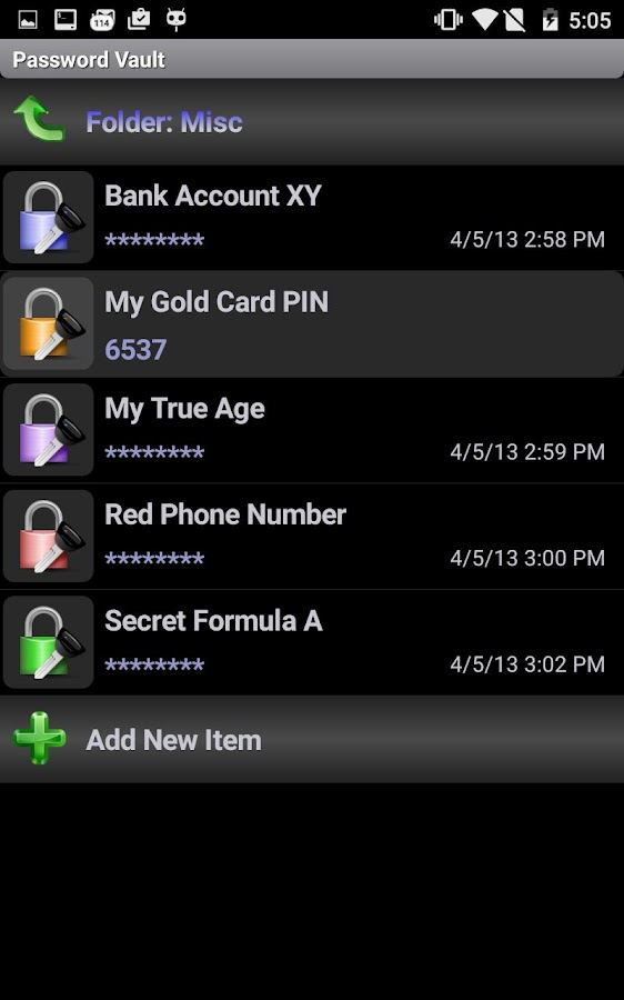 SSE - Universal Encryption App- screenshot