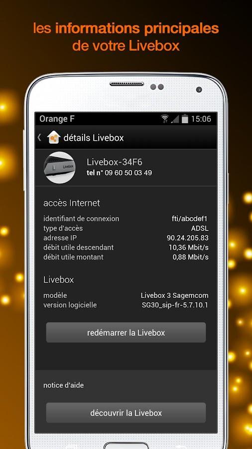 ma Livebox - screenshot