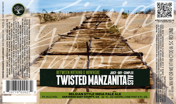 Logo of Twisted Manzanita Between Nothing & Nowhere