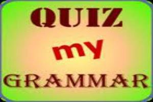 Screenshot of Grammar Quiz