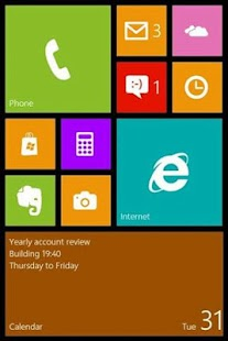 Windows 8 Launcher - screenshot thumbnail