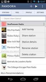 Pandora® internet radio Screenshot 1