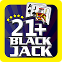 Blackjack 21+ Casino Card Game icon