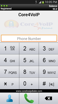 Core4VoIP Xtreme Dialer - screenshot