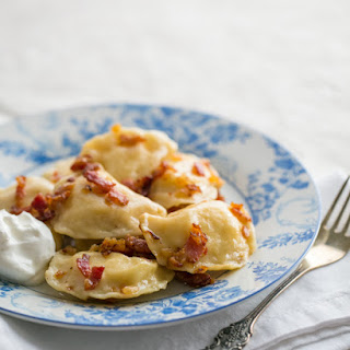 Vareniki with Potatoes and Cheese - Вареники