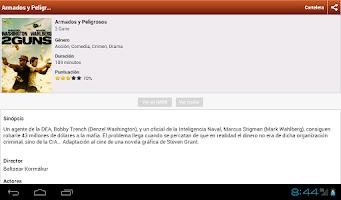 Screenshot of CarteleraPanama