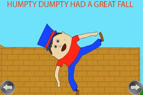 ... Humpty Dumpty Kids Rhyme - μικρογραφία στιγμιότυπου οθόνης ... cb2663248ba
