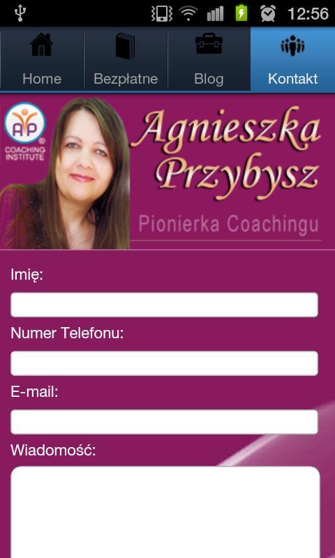 Coaching Agnieszka Przybysz- screenshot