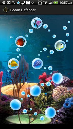 Ocean Defender Free Tap Fish