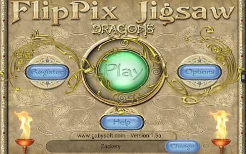 FlipPix Jigsaw - Dragons- screenshot thumbnail
