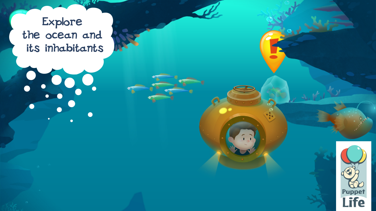 Explorium: Ocean For Kids- screenshot