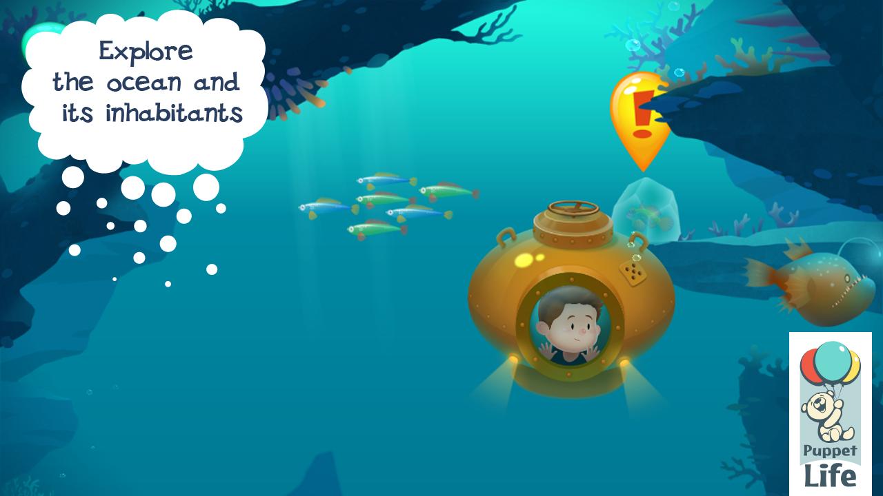Explorium: Ocean For Kids - screenshot