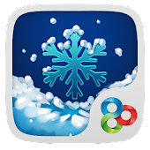 SNOW GO Launcher Theme