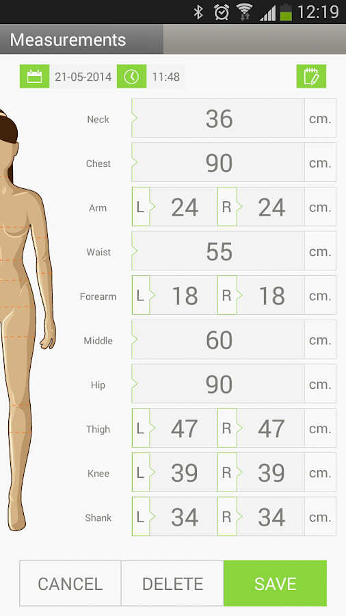 Weight Manager - Scaless - Android Apps on Google Play