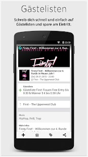 Guestlist mobile- screenshot thumbnail