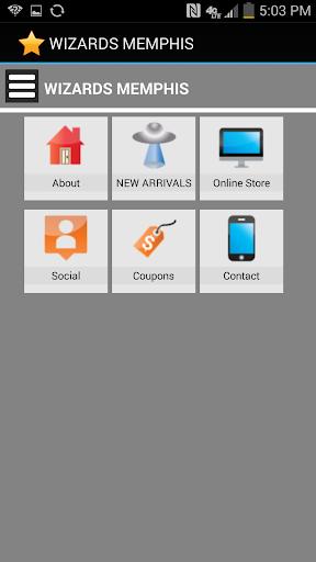 【免費購物App】Wizard's Memphis-APP點子