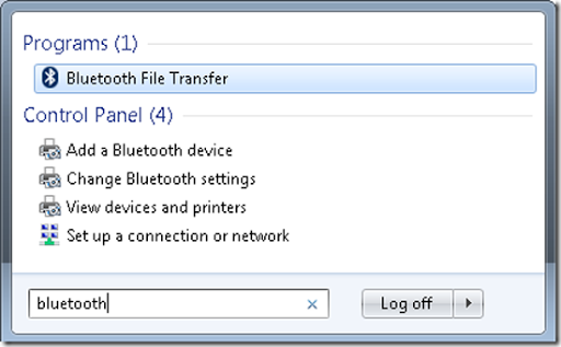 Bluetooth File Transfer How to