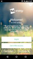 Screenshot of OVO Energy